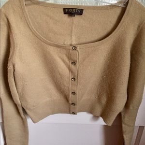 PORTS 1961 - CROPPED SWEATER